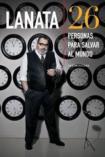 Jorge Lanata con el hombre más feliz del mundo.