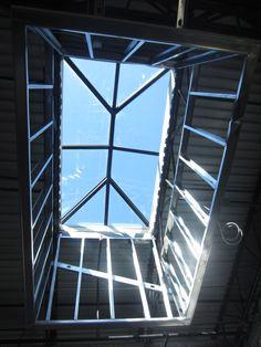 Custom Double Hip Ridge Skylight by BristoliteDS.