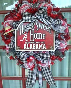 Hey, I found this really awesome Etsy listing at https://www.etsy.com/listing/195705174/alabama-crimson-tide-fan-with-welcome