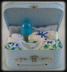 Kraamkoffer Olifant/Baby Gift Case Elephant
