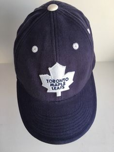 fe2d101959887 Toronto Maple Leafs Men s Hat Cap American Needle Blue One Size Fits All
