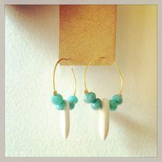 Boucles d'oreilles fantaisie lyon