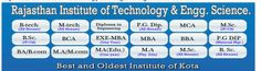 RITES (Rajasthan Institute of Technology & Engg. & Science) is one of the best Institutes Based in Faridabad, India. RITES provide Distance Education Curriculum Program in Technology and Engineering opportunities for the students? Here the students can find provide world-class environment and infrastructures along with well experienced, qualified and specialized faculties for every individual aspect to make bright future and better opportunities for the students.