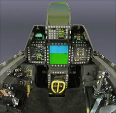 how would you like to fly this plane in this cockpit.  wow.