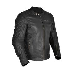Oxford Heritage Leather Jacket Route 73 - Chrome Cruisers Motorcycle Riding  Gear b76eb9faa57