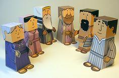Bible Paper Toys - Bible town