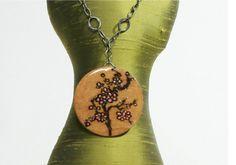 Fashion Crafting - Wood Burned Pendant
