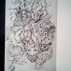 Nuno Pinto (@nuno_fpinto) • Instagram photos and videos Fantasy Art, Doodle, Trees, Sketches, Photo And Video, Videos, Photos, Instagram, Scribble