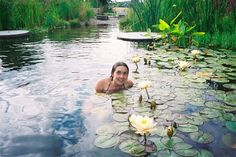 garden Bio swimming pond water cleaning water lilies