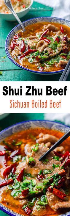 Shui Zhu Beef (Sichuan Boiled Beef) | ChinaSichuanFood.com