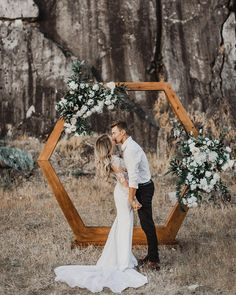 boho chic geometric wedding arch arch geometric 15 Geometric Wedding Backdrop Ideas for Modern Weddings - Oh Best Day Ever Wedding Bells, Boho Wedding, Fall Wedding, Wedding Events, Wedding Flowers, Dream Wedding, Wedding Dresses, Wedding Greenery, Greenery Decor