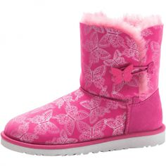 Hot Ugg Fox Fur Mini 5854 Boots for Clearance Sale At Zonedout.us ...