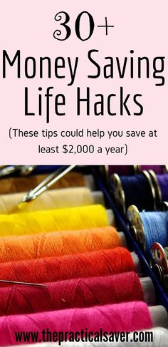 These are simple, easy to do money saving life hacks that could save you thousands of money every year. You can also make money through these hacks. These hacks include actions related to travel, education, life, family, investment, kids, money tips, cell phones, smartphones, among others. #strategy #dollar #future
