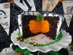 Pumpkin Inside the Cake