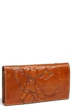 Patricia Nash 'Varesse' Wallet available at Patricia Nash, Simple Bags, Slim Wallet, Secret Santa, Wristlets, Wallets, Nordstrom, Purses, Chic
