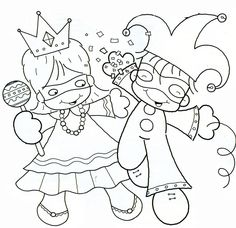 Visit the post for more. Carnival Crafts, Carnival Games, Preschool Coloring Pages, Colouring Pages, Crafts For Kids, Arts And Crafts, Paper Crafts, Theme Carnaval, Printable Coloring Sheets