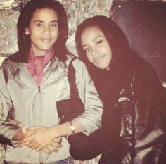 Aaliyah and Kidada