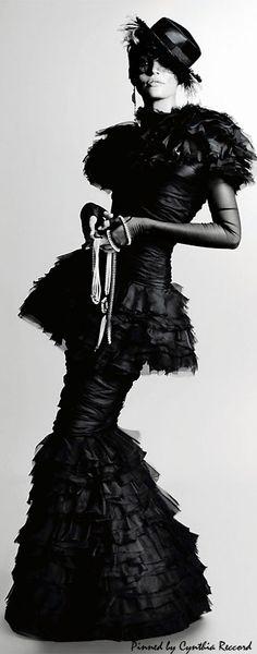 Candice Swanepoel by Karl Lagerfeld for Harper's Bazaar Korea December 2011 | cynthia reccord