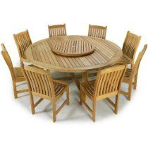Large teak dining sets with seating for 8 to 14 people come in several shapes and styles. All of our teak table sets come with a lifetime warranty. Choose from 9 pc and 15 pc teak wood dining sets. Quality Rated Best Overall by the Wall Street Journal. Outdoor Dining Furniture, Outdoor Dining Set, Teak Furniture, Furniture Layout, Furniture Stores, Furniture Buyers, Furniture Manufacturers, White Furniture, Kids Furniture