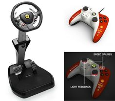 Thrustmaster unveils Ferrari Vibration GT Cockpit 458 Italia Edition and Ferarri gamepad for Xbox 360, we go hands on that's awesome!:)