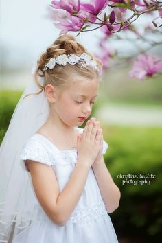 First Communion Photography.  Christina Bailitz Photography