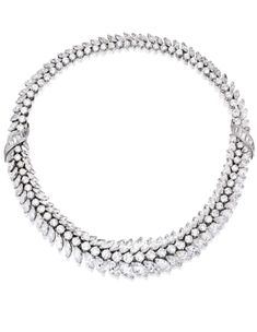 Platinum and Diamond Necklace, Van Cleef & Arpels, Paris, circa 1960 | Lot | Sotheby's