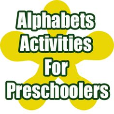 Alphabet theme and circle time alphabet activities for preschool kids learning their abcs etc...