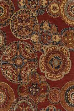 Karastan English Manor (2120) Chesterfield Red (550) Area Rugs