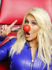 Singer Christina Aguilera will take part in NBC's 'Red