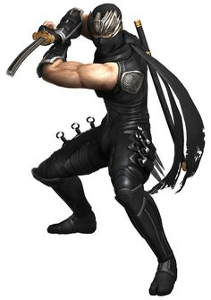 View an image titled 'Ryu Hayabusa Art' in our Ninja Gaiden 3 art gallery featuring official character designs, concept art, and promo pictures. Game Character Design, Character Art, Guerrero Ninja, Art Ninja, Ryu Hayabusa, Dragon Ninja, Ninja Games, Tokyo, Shadow Warrior