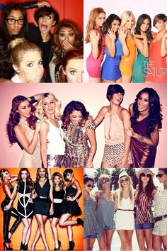 The Saturdays = Una Foden, Mollie King, Frankie Bridge, Rochelle Humes and Vanessa White! :)