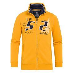 Sweatjacke Preston in Gelb aus der Kategorie Sweats. Hochwertig verarbeitet im typischen Stil der holländischen Modemarke Gaastra. 60% Baumwolle / 40% Polyester. Entdecken Sie auch weitere Produkte aus der aktuellen Kollektion