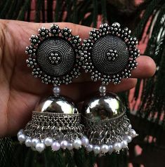 Jewellery Brands within Jewellery Stores Mackay past Jewellery Or Jewelry these Jewellery Organizer Tray its Jewellery Stores Pakenham Indian Jewelry Earrings, Silver Jewellery Indian, Fashion Earrings, Silver Jewelry, Silver Ring, Silver Earrings, Jewelery, 925 Silver, Silver Jhumkas