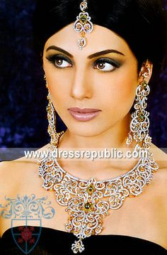 Style DRJ1437, Product code: DRJ1437, by www.dressrepublic.com - Keywords: Latest Jewelry Designs in Pakistan, Latest Gold Jewellery Designs in Silver Pakistan