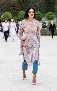 Tiffany Hsu at Paris Fashion Week SS 2017