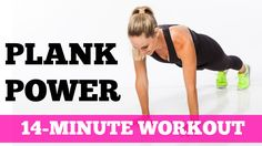 Take our Planksgiving Challenge! The 14-Minute Plank Power Workout for A...