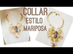 Dije de Flor con Borlas, Alambrismo DIY - YouTube