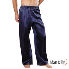 The man of your house will never be more comfortable than in the Classic Satin Lounge Pants. Treat him to a naughty night just for him.