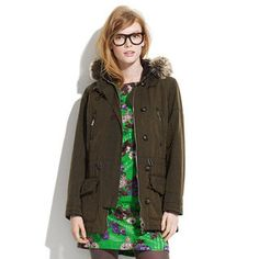 #IOTD: Madewell Barbour Vintage Troop Parka | Celebrity Style and Fashion Guide