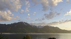 Montreux Switzerland on the shore of Lake Geneva. Lake Geneva, Switzerland, Explore, Mountains, Nature, Travel, Naturaleza, Viajes, Destinations