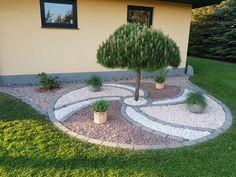 70 Magical Side Yard And Backyard Gravel Garden Design Ideas 9 Garden Yard Ideas, Backyard Garden Design, Small Backyard Landscaping, Yard Design, Backyard Patio, Landscaping Ideas, Backyard Ideas, Veg Garden, Garden Planters