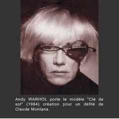 c4c549f9541be1 Lunettes, Tableau, Artistes Célèbres, Andy Warhol, Montana, Modélisation,  Cadres