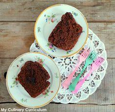 My Culinary Curriculum: Cake chocolat noir et cerises griottes confites (D...