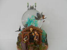 haunted mansion  snow globe