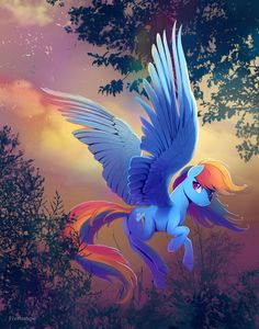 Pegasus magic by viwrastupr on DeviantArt