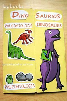 Lapobook Dinosaurs 6