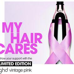 ghd vintage pink- my hair cares