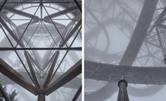 The construction of various viewing structures in the romantic setting of the Czech mountains has been a tradition since the 19th century, when tourism first began to flourish there. A contemporary version of this traditional watch tower –Tower Dol...