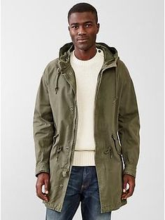 Fishtail parka jacket | Gap