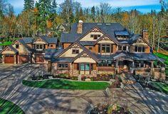 Luxury Homes Dream Houses, Luxury House Plans, Dream House Plans, Bedroom House Plans, House Floor Plans, Dream Homes, Dream Mansion, The Plan, How To Plan
